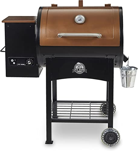 Pit Boss Classic 700 sq. in. Wood Fired Pellet Grill Smoker, Smoke, Bake, Roast, Braise and BBQ