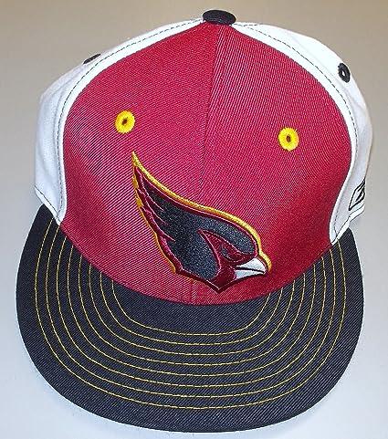 42b5984c8 Amazon.com : Arizona Cardinals Fitted Flat Bill Hat By Reebok Size 7 ...