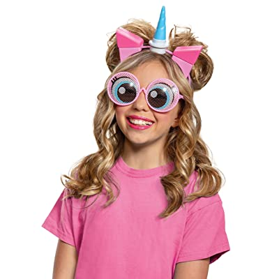 Disguise Unikitty LEGO Movie 2 Ears & Glasses Costume Kit: Toys & Games