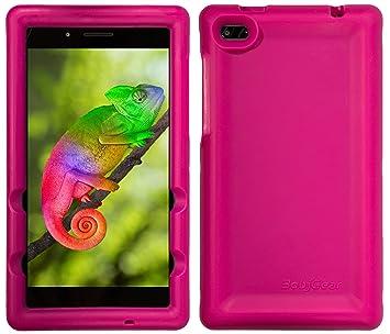 BobjGear Bobj Carcasa Resistente para Tablet Lenovo Tab 7 Essential TB-7304F, TB-7304I, TB-7304X - (Rosa)