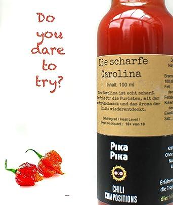 La Picante Carolina / Contenido: 100 ml / Nivel de picor: 10 von ...