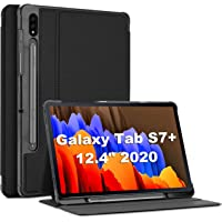 ProCase Galaxy Tab S7 Plus 12.4 Case 2020 with S Pen Holder, Slim Stand Protective Folio Case Smart Cover for Galaxy Tab…