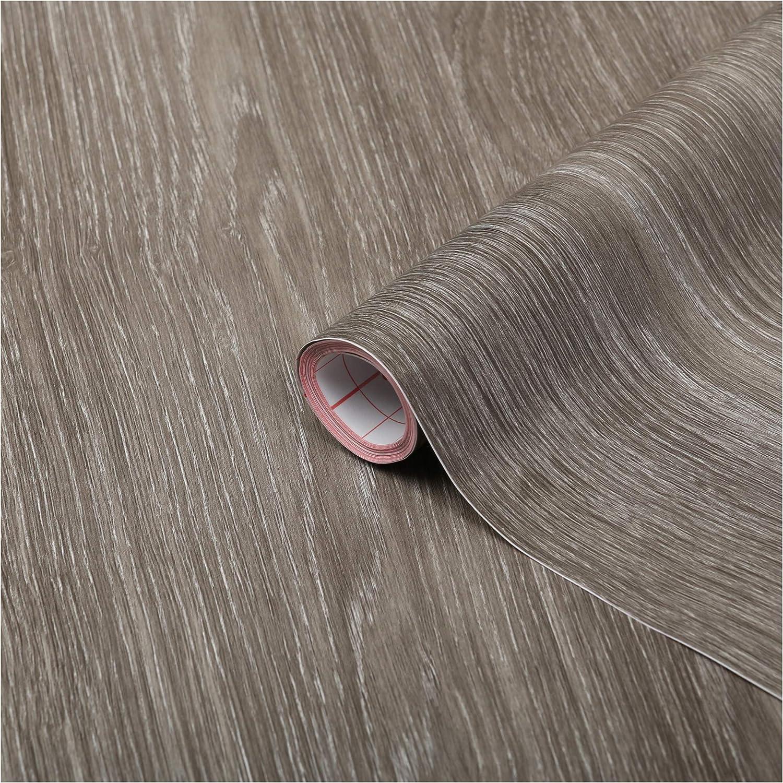 d-c-fix® Sticky Back Plastic (self adhesive vinyl film) Woodgrain Oak Sheffield Pearly Grey 90cm x 2.1m 346-5350 by d-c-fix®