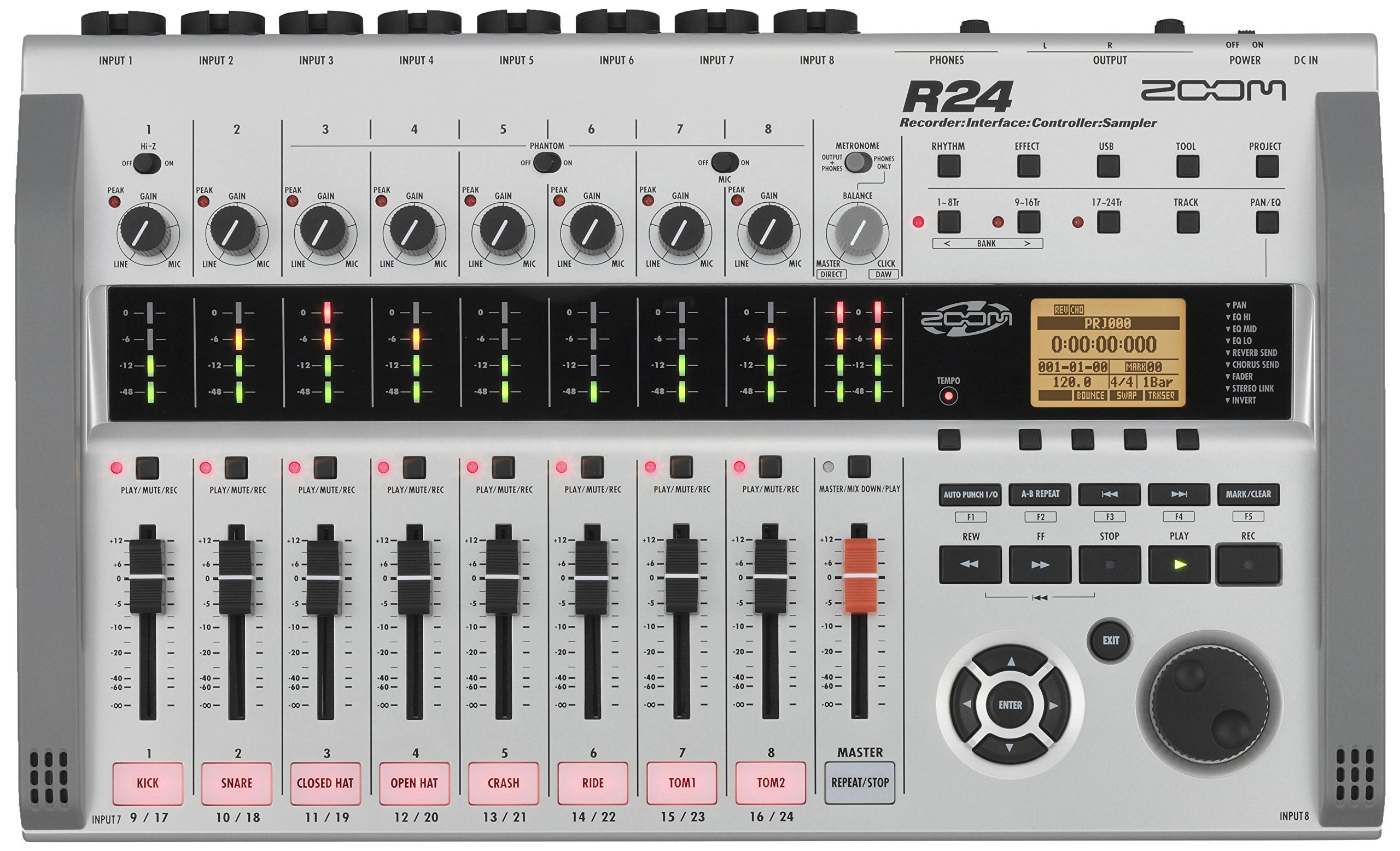 Zoom R24 Digital Multitrack Recorder (Renewed)