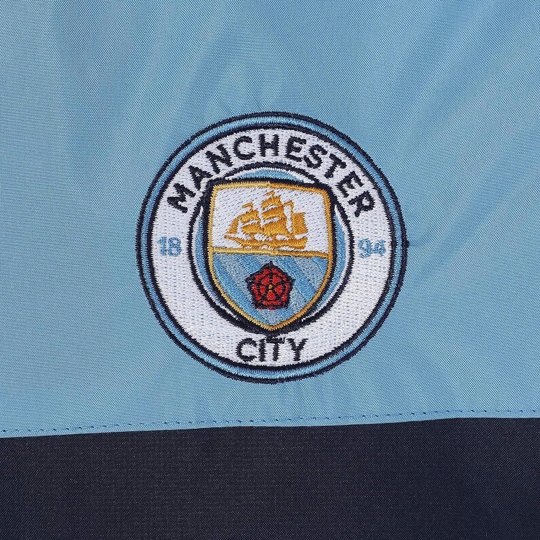 Manchester City FC Official Soccer Gift Boys Shower Jacket Windbreaker