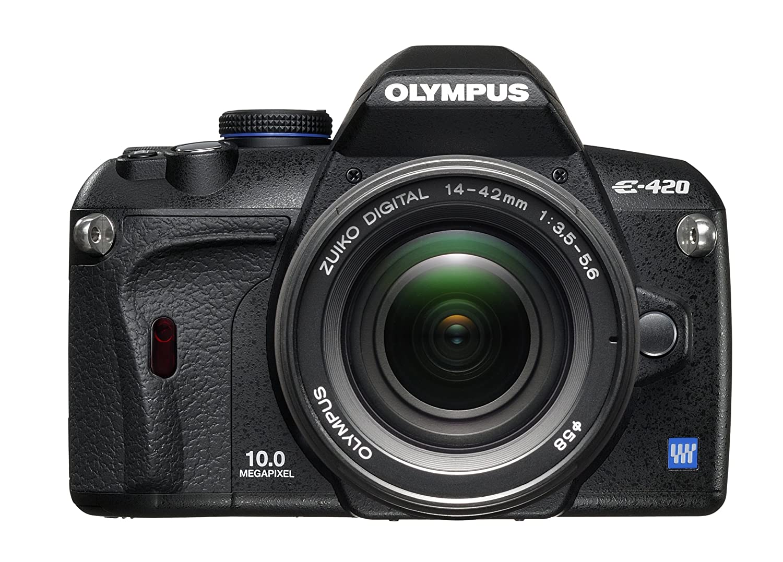 Amazon.com: Olympus EVOLT E420 10 MP Cámara réflex digital ...