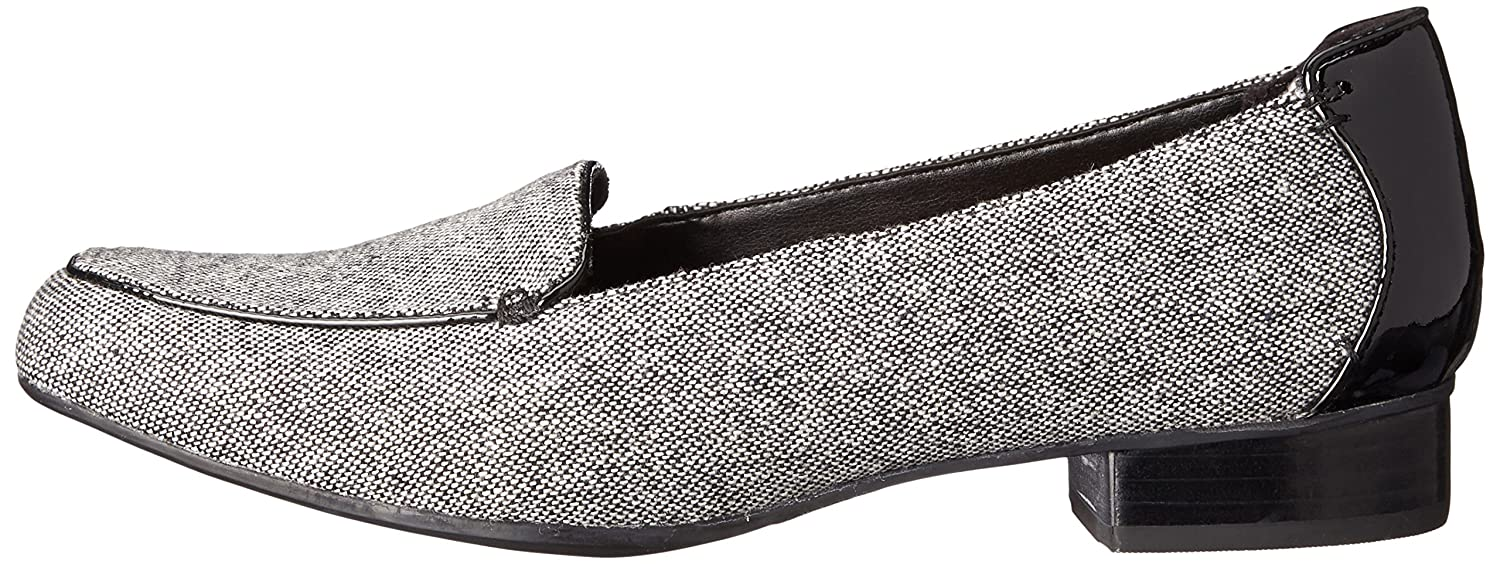 CLARKS Women's Keesha US|Black Luca Slip-On Loafer B00T6C1LW4 10 N US|Black Keesha Tweed Combo 939d4f