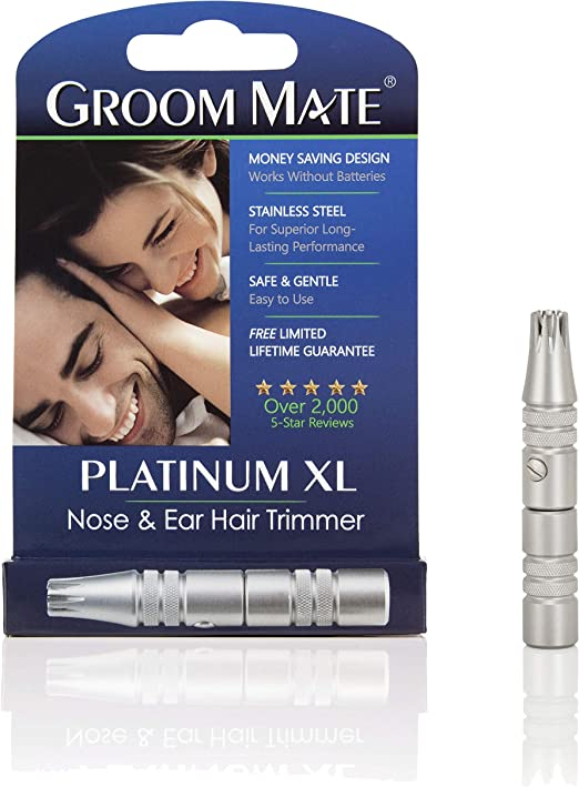 Groom Mate Platinum Nose Hair Trimmer
