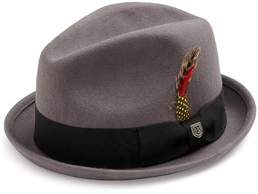 b4f91595d1dc Amazon.com: Brixton Men's Gain Hat: Clothing