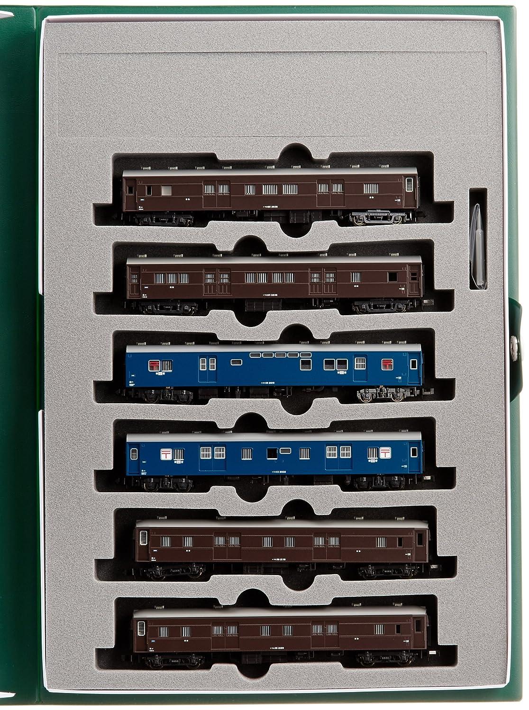 KATO Nゲージ 郵便荷物列車 東北 6両セット 10-898 鉄道模型 客車 B00BS1PTBA