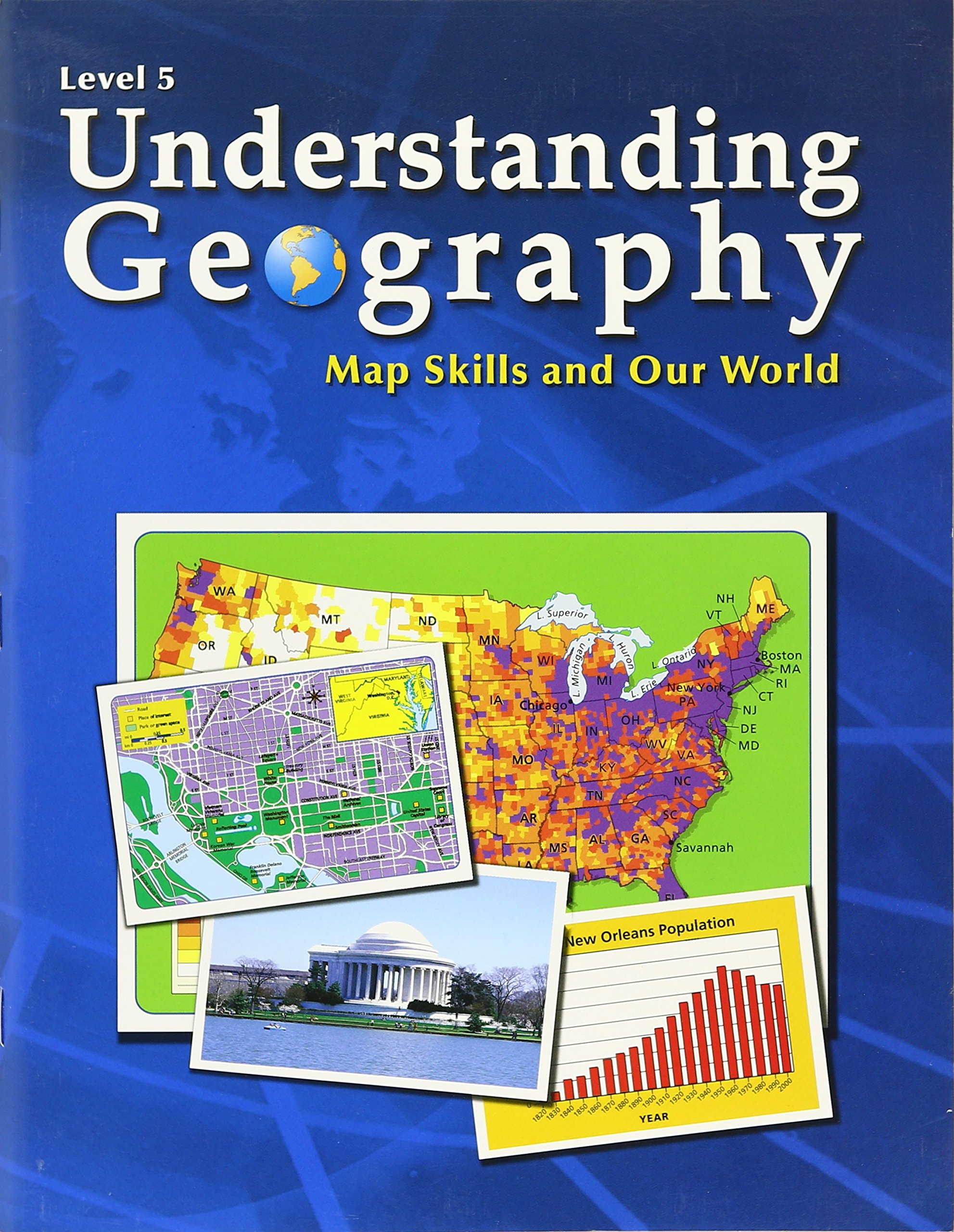 Understanding Geography, Map Skills and Our World, Level 5 (Understanding Geography, Level 5) PDF