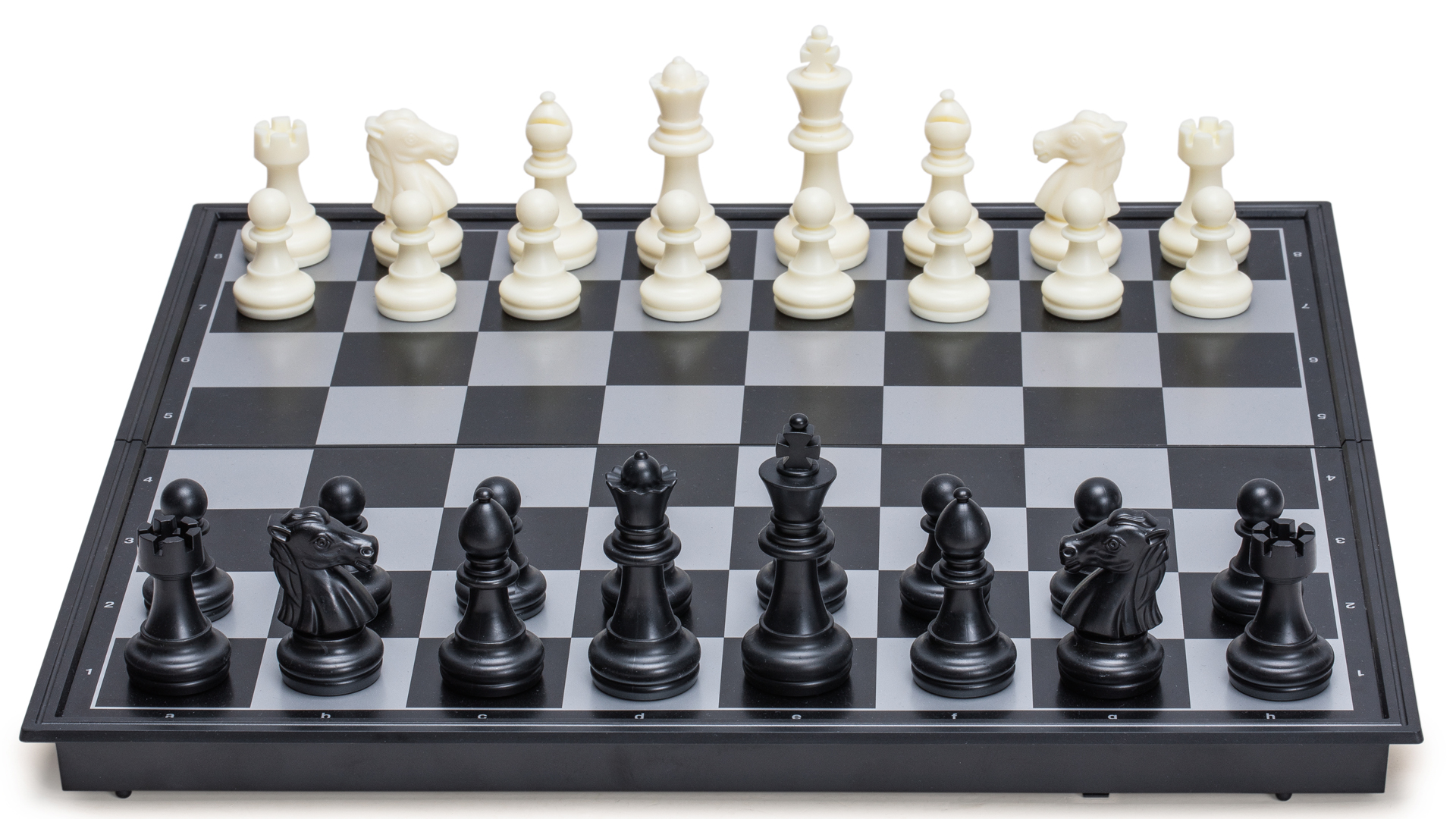 """Draughts 12.5/"""" 2 in 1 Travel Portable Magnetic Chess Checkers Set"""