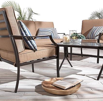 Gentil Strathwood Brentwood 4 Piece Outdoor Furniture Set