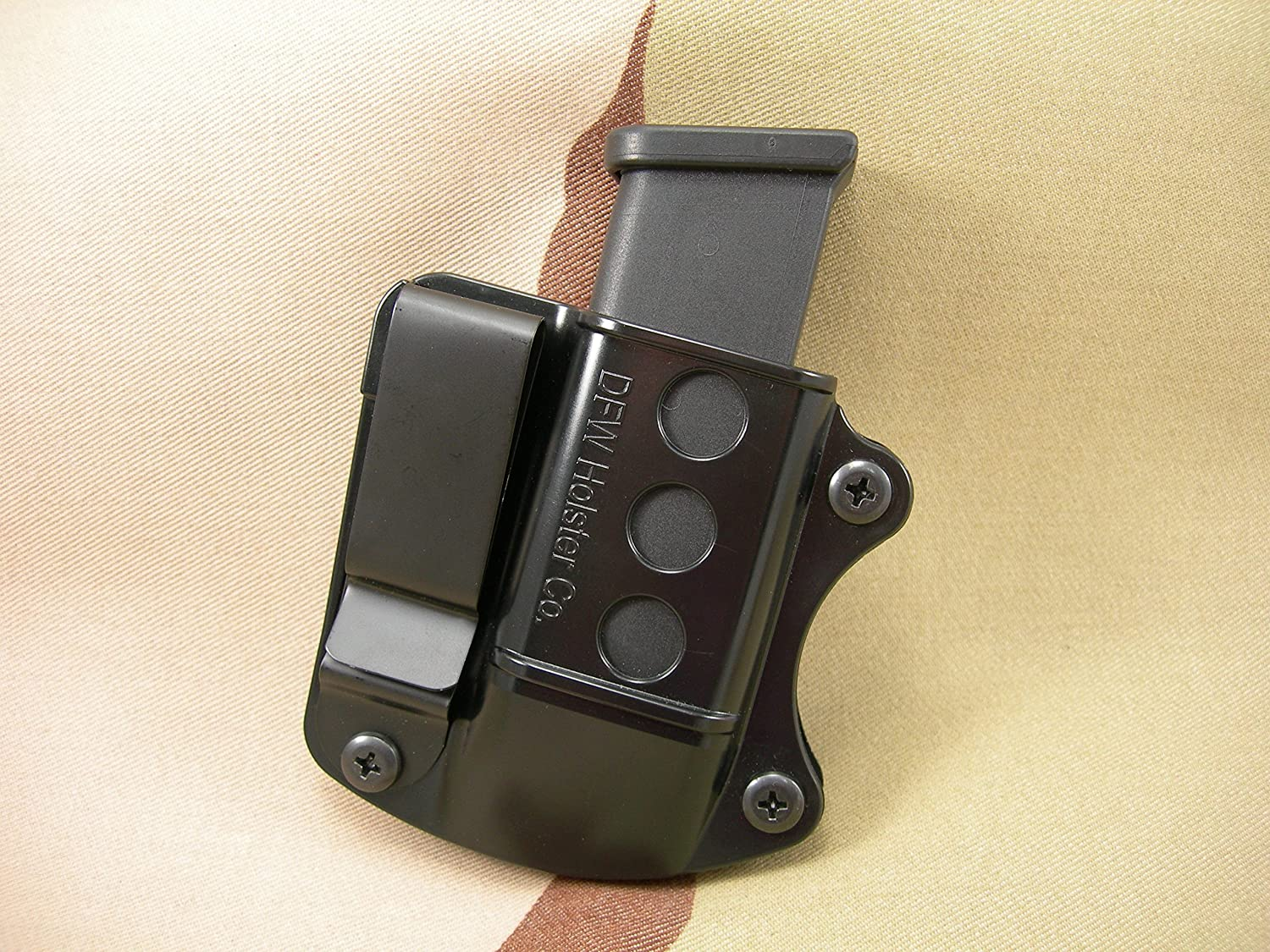 40 Cal Tuckable IWB//OWB Mag Pouch for 9mm /& 45 Single Stacks.