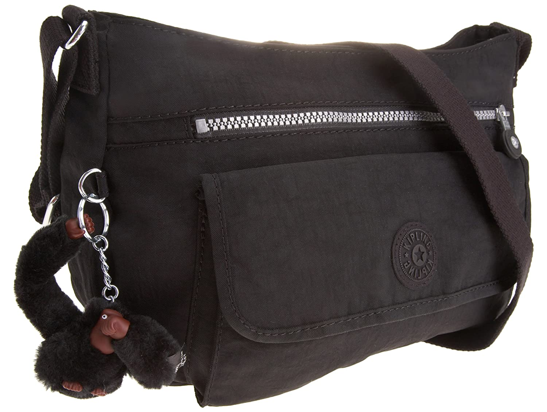44fba901c0e Kipling Syro, Women's Shoulder Bag, Schwarz (Black), One Size:  Amazon.co.uk: Luggage