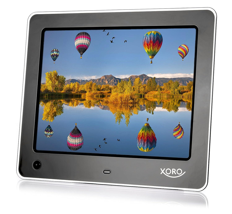 Xoro DPF 8A1 Digitaler Bilderrahmen 8 Zoll schwarz: Amazon.de: Kamera