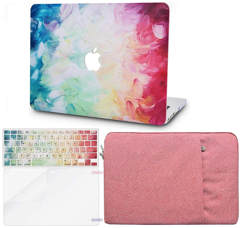2020//2019//2018, Touch ID KECC MacBook Air 13 Retina Pollici Custodia Case Rigida w//EU Cover Tastiera Proteggi Schermo Manica per MacBook Air 13.3 {A1932} Wolf
