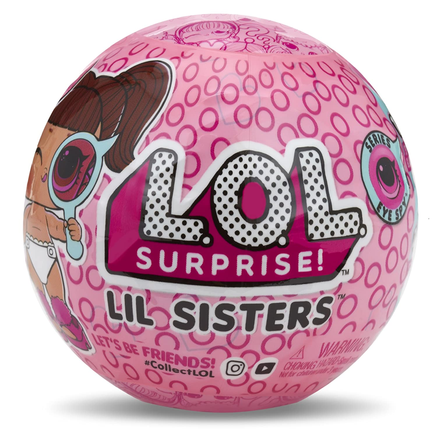 MGA Entertainment L.O.L. Surprise! Lil Sisters Ball - Series Eye...