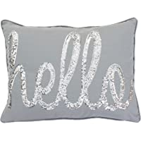 Thro Ltd. by Marlo Lorenz Throw Pillow Casual Silver