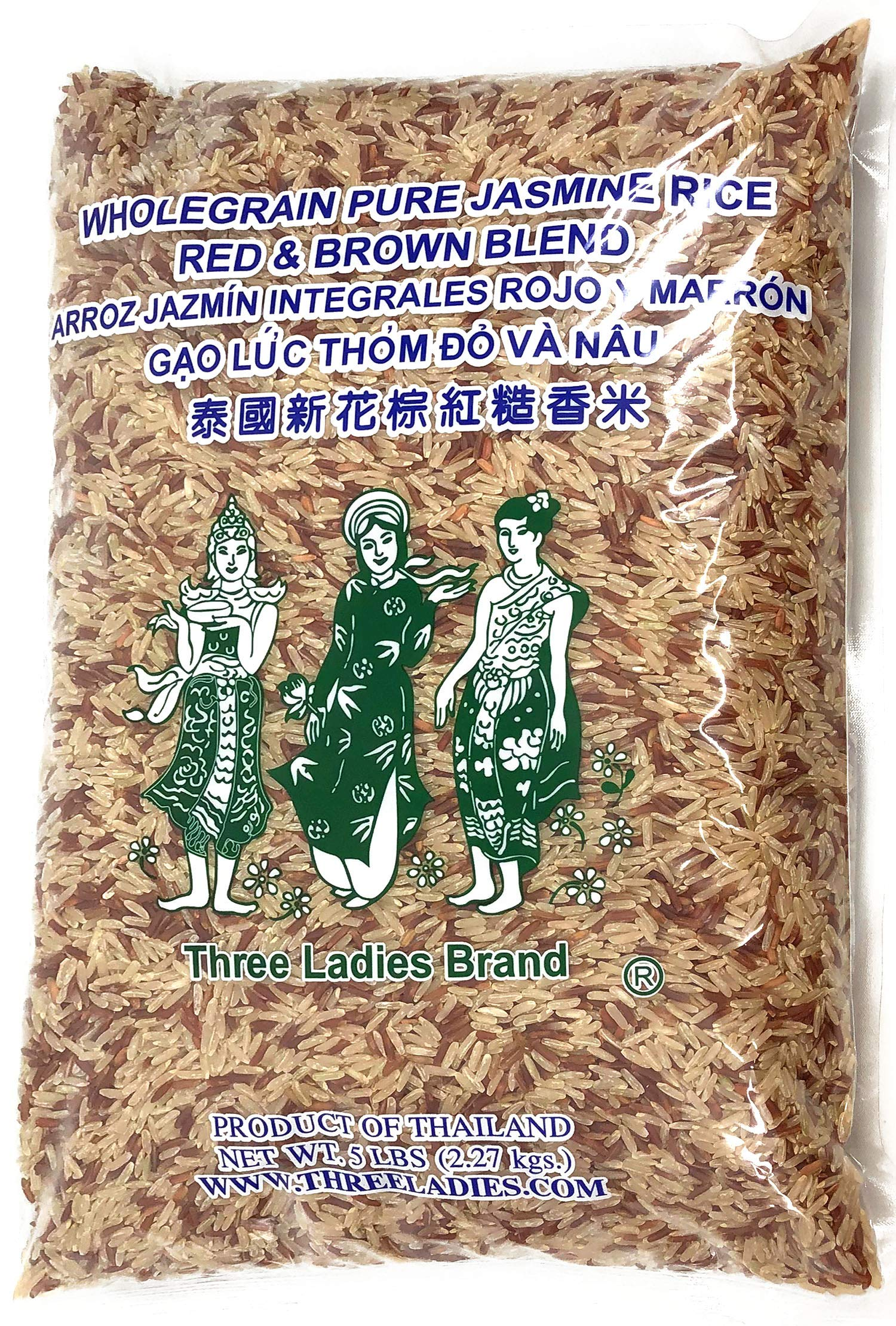 Amazon.com : Dynasty Jasmine Brown Rice, 5-Pound : Brown