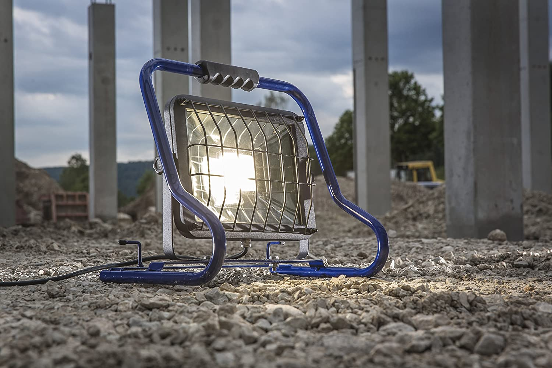 as Schwabe Mobiler Chip LED Strahler Slimline Baustrahler Lampe Leuchte 80W 50W
