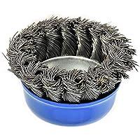10x Kegelbürste Kegelbürsten Kegeldrahtbürsten 125 mm Bürste Bürsten gezopft