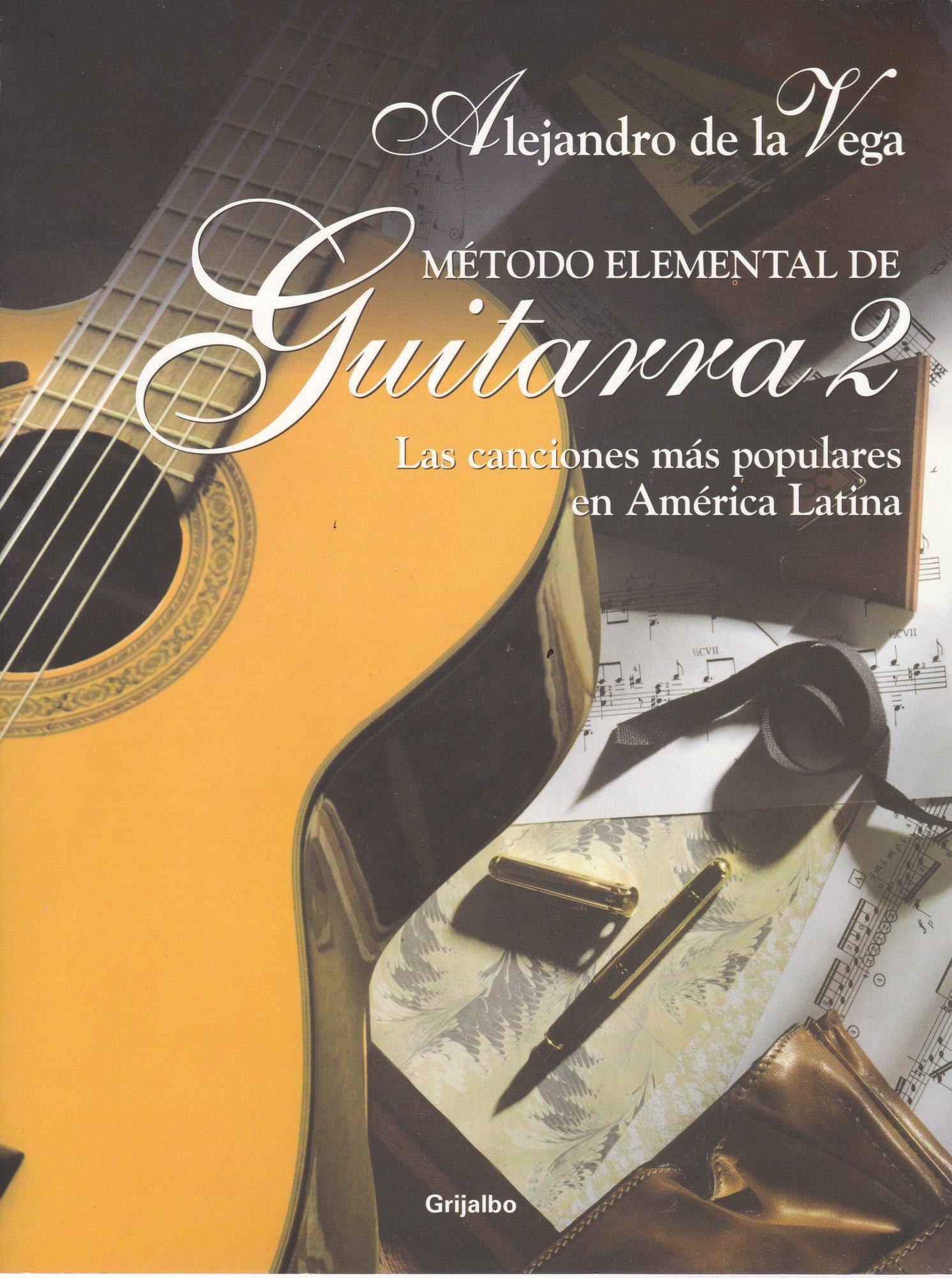 metodo elemental de guitarra ii: Amazon.es: alejandro de la vega ...