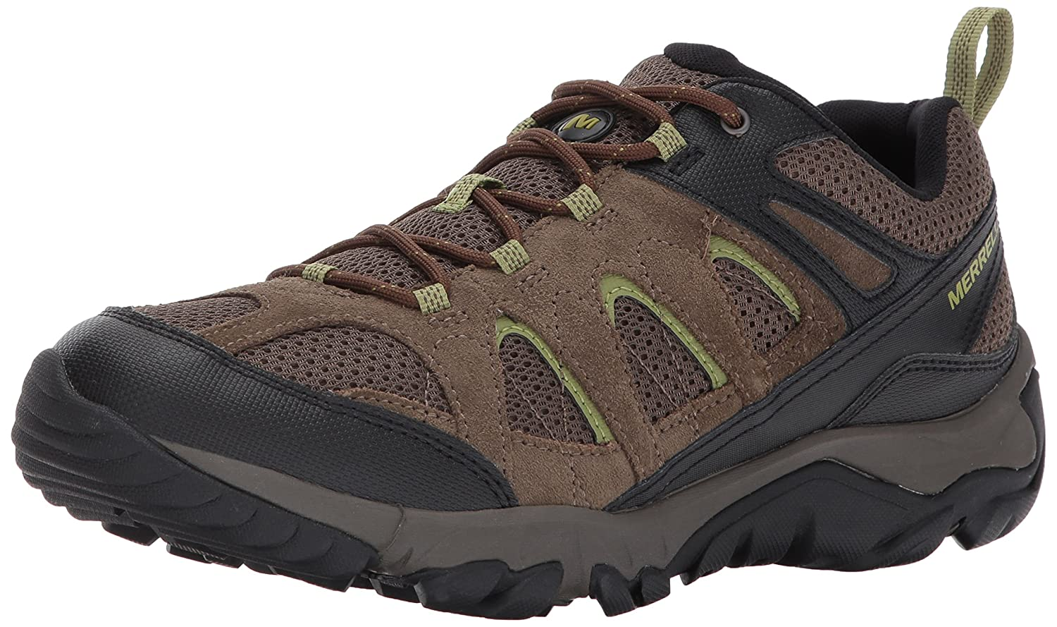 Merrell Women's Outmost Vent Hiking Boot B01N0QY2ZJ 10.5 D(M) US|Boulder/Brown1