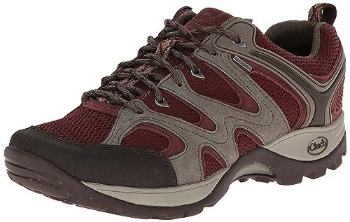 Zapatillas de trail running impermeables Layna para mujer, Cabernet, 9 M US: Amazon.es: Zapatos y complementos
