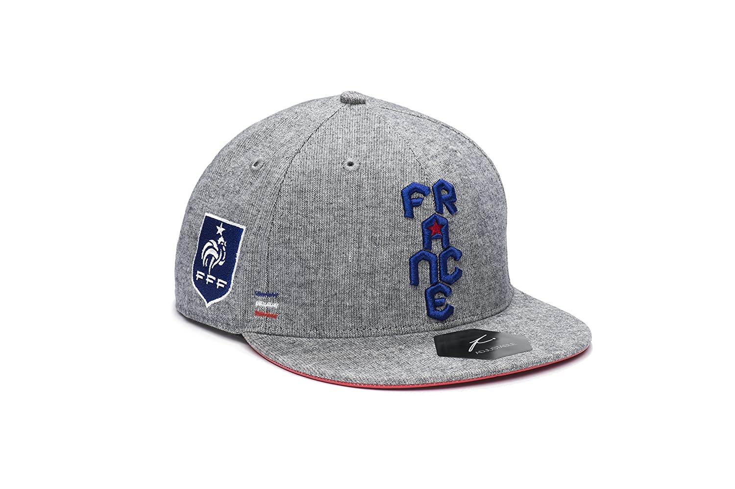 French Football Federation Fi Collection Snapback Flatbill Soccer Hat