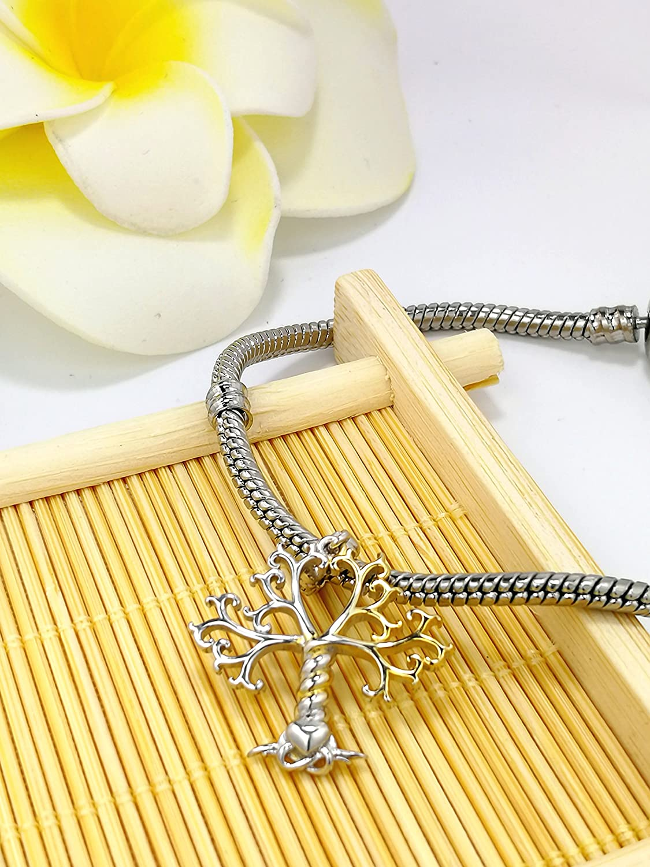 Amatolove Jewellery Argent Sterling 925/Charms Pendentif darbre de Vie au Mom pour Bracelets et Colliers Bijoux
