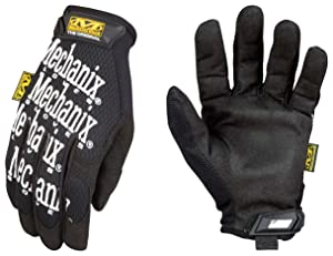 Mechanix Wear - Women's Original Work Gloves (Small, Black)