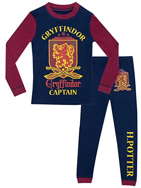 Harry Potter - Pijama para Niños - Harry Potter - Ajuste Ceñido - 10 - 11