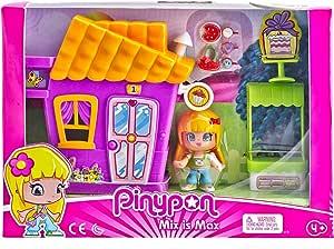 Amazon.es: Pinypon- Minicasita Violeta con Tienda de Cupcakes (Famosa 700014333): Juguetes y juegos