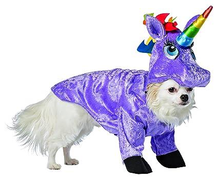 907cb747e72 Amazon.com   Rasta Imposta Unicorn Dog Costume