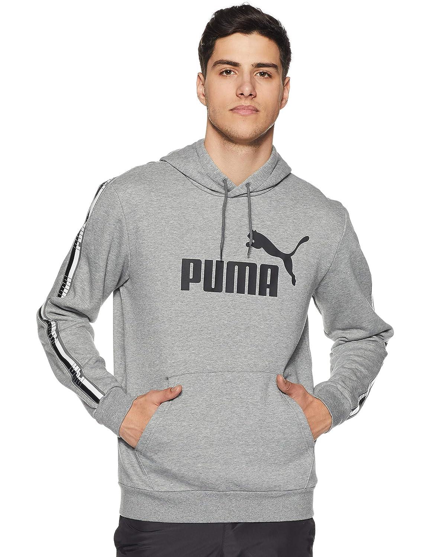 TALLA L. Puma Tape Hoody Sweatshirt, Hombre