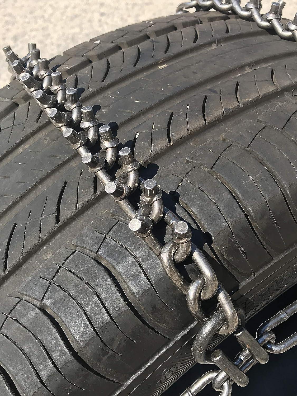 TireChain.com P245//70R17 Priced per Pair. P245//70 17 V-BAR Cam Tire Chains
