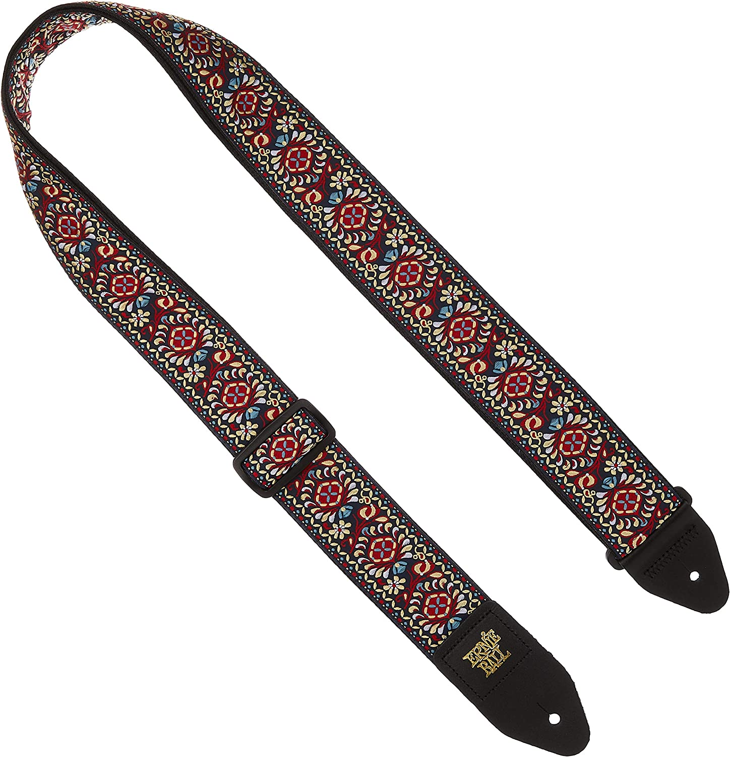 Ernie Ball 4668 Winter Rose Jacquard Strap