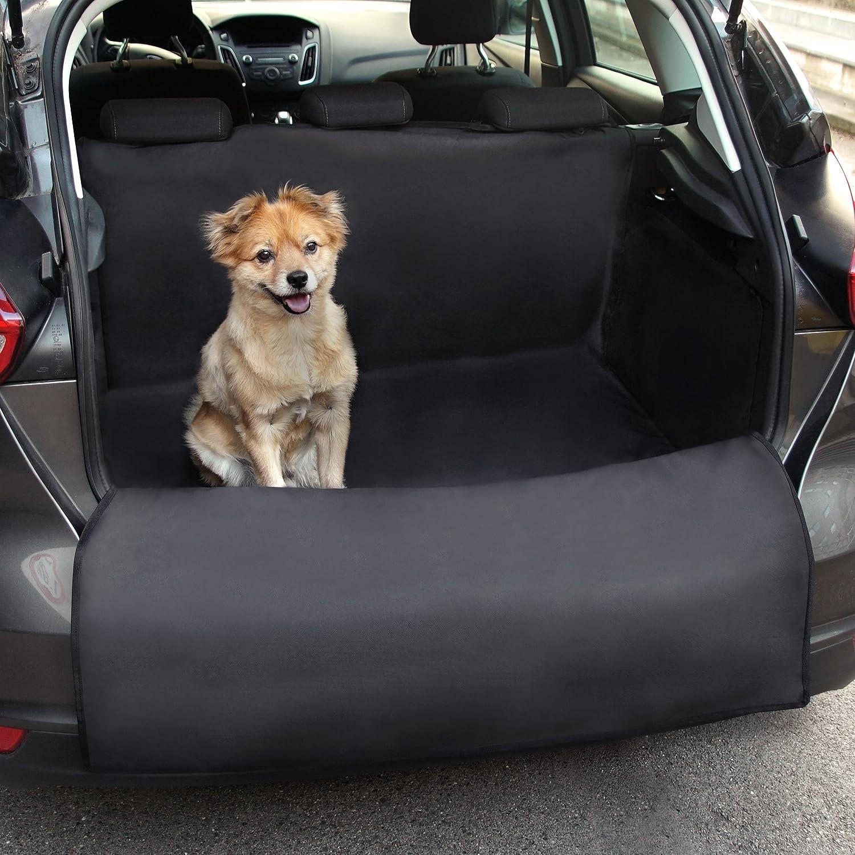 Universeller Kofferraumschutz von Heldenwerk - Ideal für Hunde - Kofferraumdecke mit Ladekantenschutz - Schneller Einbau