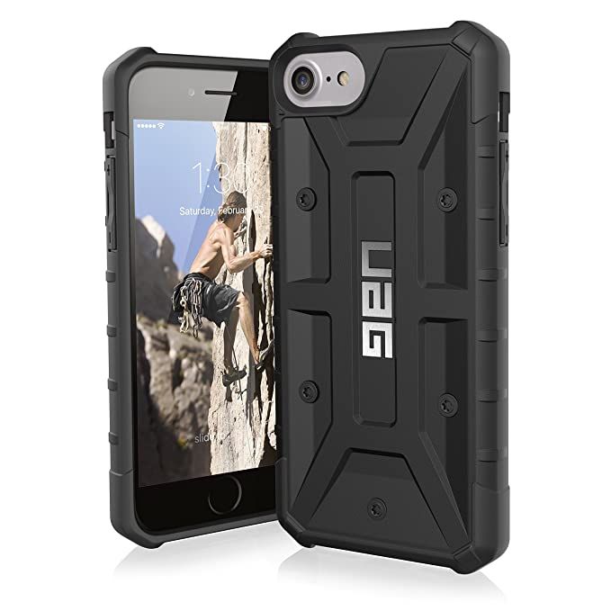 san francisco 33c9e 7f6fc UAG iPhone 8 / iPhone 7 / iPhone 6s [4.7-inch screen] Pathfinder  Feather-Light Rugged [BLACK] Military Drop Tested iPhone Case