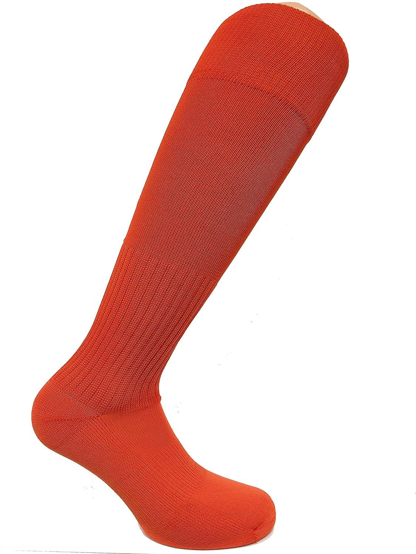 Soc Com Poly Proサッカーソックス B00SMH5RLK L オレンジ オレンジ L