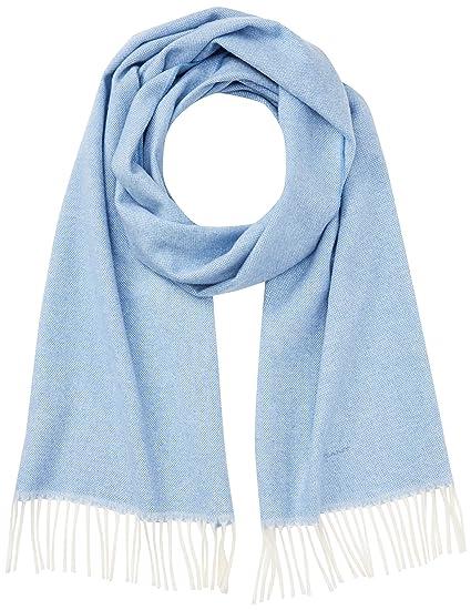 a951241f47 GANT Damen Schal O1. Oxford Weave Scarf, Blau (Hamptons Blue), One ...