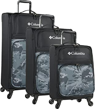Columbia Chillout 24 Black Rolling Luggage Bag