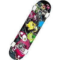 """Punisher Skateboards 9012 Skateboards Elephantasm Complete 31"""" Skateboard All Maple, Multicolor"""