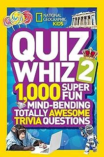National Geographic Kids Quiz Whiz: 1, 000 Super Fun, Mind