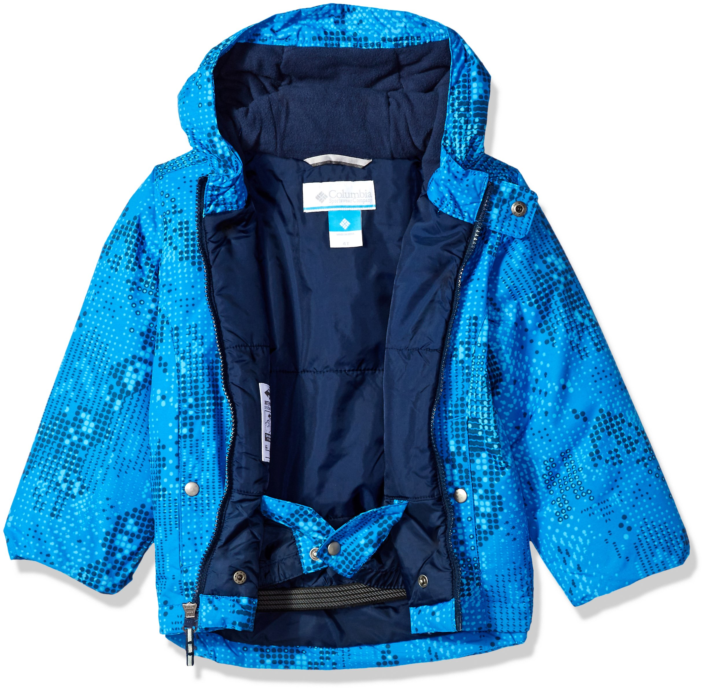 Columbia Little Boys' Frosty Slope Set, Super Blue Energy Dot, 4T by Columbia (Image #4)