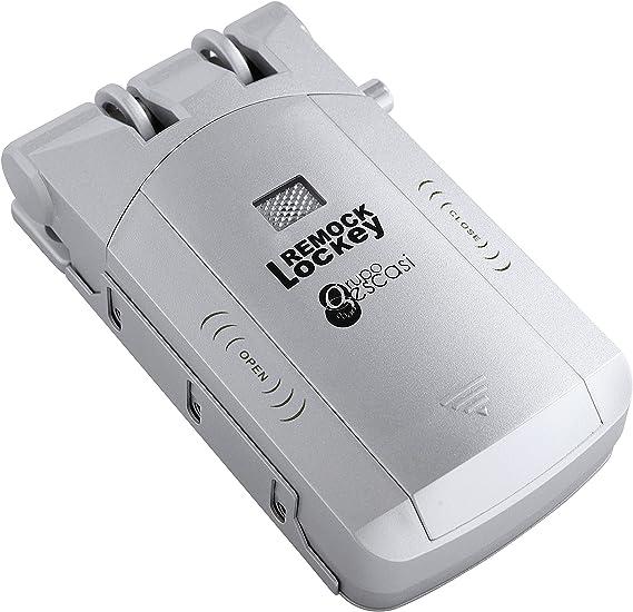 colore: argento 3/V Remock Lockey RLK4S Serratura di sicurezza invisibile con 4/telecomandi
