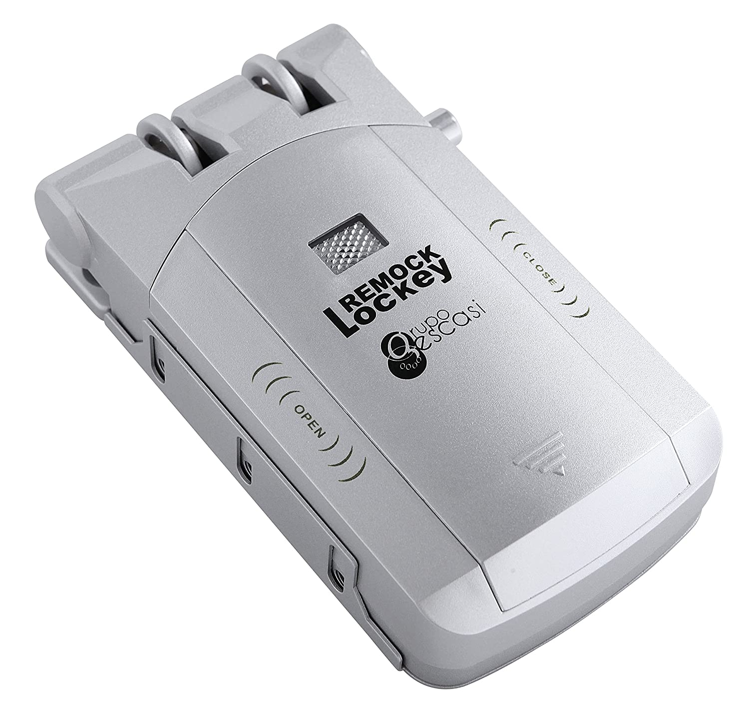 Remock Lockey RLK4S - Cerradura de seguridad invisible con 4 mandos (3 V) color