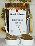 Farina di Canapa ( Cannabis sativa ) 450g / Hemp Seed Flour 450g Health Embassy