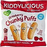 Kiddylicious Chunky Puff, Chunky Strawberry, 12 g